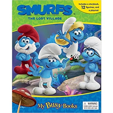 MY BUSY BOOK : SMURFS THE LOST VILLAGE