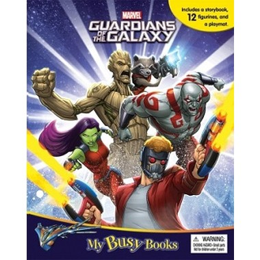Marvel Guardians of the Galaxy My Busy Book