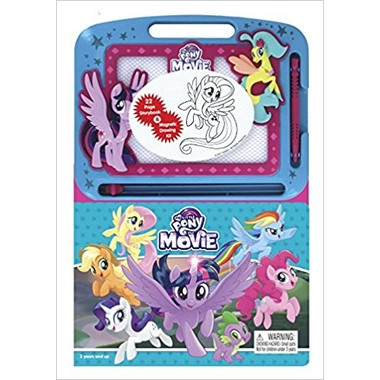 My Little Pony The Movie: Magnetic Drawing Toy and Book