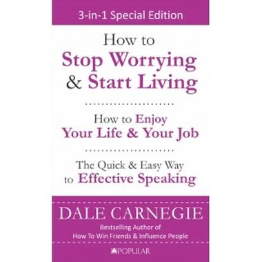 CARNEGIE 3-IN-1:STOP WORRYING,LIFE&SPEAK