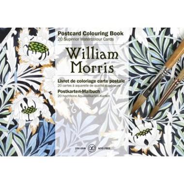 William Morris :Postcard Colouring Book