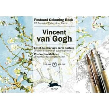 Van Gogh :Postcard Colouring Book