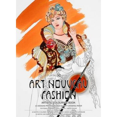 Art Nouveau Fashion :Artists' Colouring Book