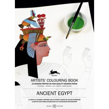 Ancient Egypt :Artists' Colouring Book