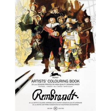Rembrandt :Artists' Colouring Book