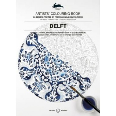 Delft Blue :Artists' Colouring Book