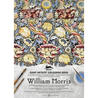William Morris :Giant Artists' Colouring Book