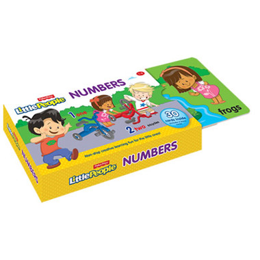 FISHER PRICE FLASH CARD: NUMBERS