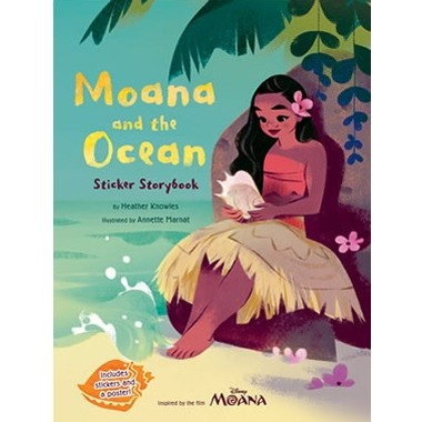 Disney Moana: Moana and the Ocean Sticker Storybook