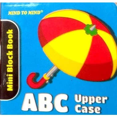 MINI BLOCK BOOK-ABC UPPER CASE