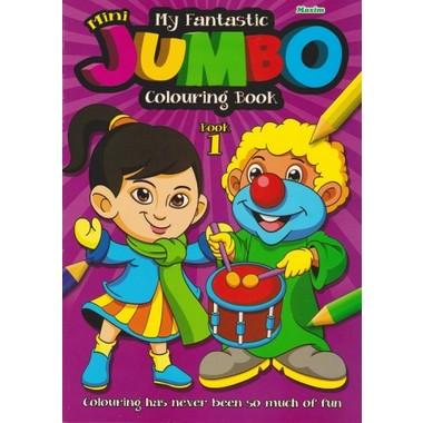 FANTASTIC MINI JUMBO COLOURING BOOK 1
