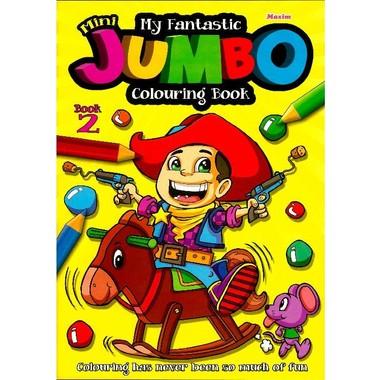 FANTASTIC MINI JUMBO COLOURING BOOK 2