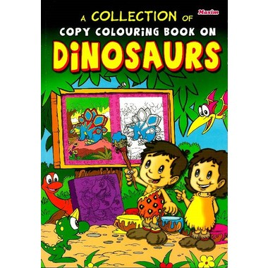 COLLECTION COPY COLOURING DINOSAURS