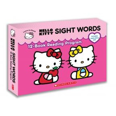 HELLO KITTY SIGHT WORDS 12 BOOK READING