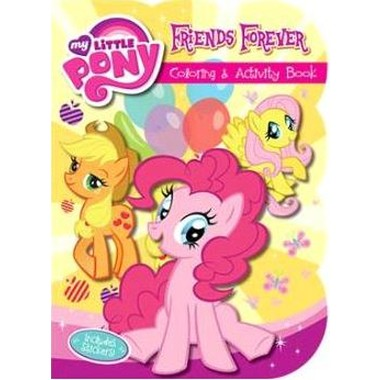 MY LITTLE PONY FRIENDS FOREVER SHAPE DEL