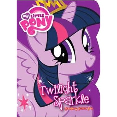 TWILIGHT SPARKLE COLOURING AND ACTIVITY