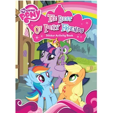 THE BEST OF PONY FRIENDS STICKER ACTIVIT