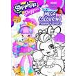 Shopkins Shoppies Mega Colouring Book