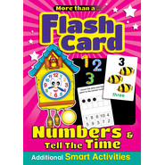 FLASHCARD-NUMBERS&TELL THE TIME