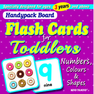 FLASHCARD-NUMBERS,COLOURS & SHAPES