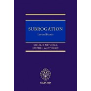 Subrogation :Law and Practice
