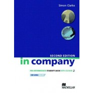 In Company Student's Book & CD-ROM Pack Pre-intermediate Level