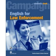 English for Law Enforcement :Student Book with CD-ROM