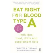 Eat Right for Blood Type A :Individual Food, Drink and Supplement lists