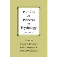 Portraits of Pioneers in Psychology :Vol.6
