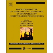 Proceedings of the 8th International Conference on Foundations of Computer-Aided Process Design :Volume 34