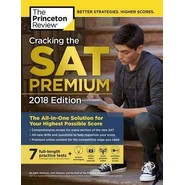 Cracking the SAT Premium Edition with 7 Practice Tests