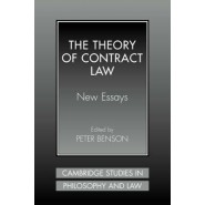 The Theory of Contract Law :New Essays