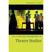 The Cambridge Introduction to Theatre Studies