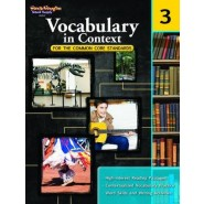 Vocabulary in Context for the Common Core Standards, Grade 3
