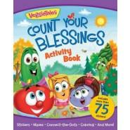 VeggieTales Count Your Blessings Activity Book