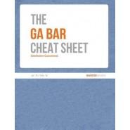 Ga Bar Cheat Sheet (Jul. 2015 / Feb. 2016)