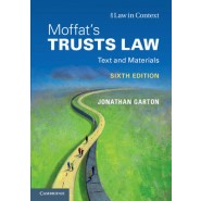 Moffat's Trusts Law 6th Edition :Text and Materials