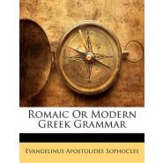 Romaic or Modern Greek Grammar