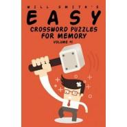 Easy Crossword Puzzles for Memory - Volume 1
