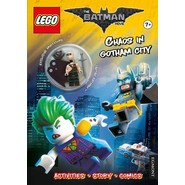 The LEGO Batman Movie: Chaos in Gotham City (Activity Book with Exclusive Batman Minifigure)