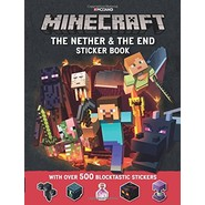 Minecraft The Nether and the End Sticker Book
