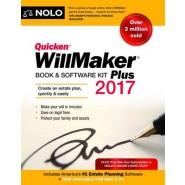 Quicken Willmaker Plus 2017 Edition :Book & Software Kit