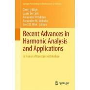 Recent Advances in Harmonic Analysis and Applications :In Honor of Konstantin Oskolkov