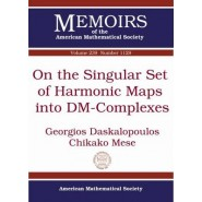 On the Singular Set of Harmonic Maps into DM-Complexes