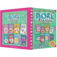 Dork Diaries x 8 Title Slipcase