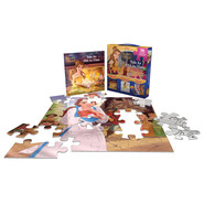 Disney Princess Beauty and the Beast Tale as Old as Time :Storybook and 2-in-1 Jigsaw Puzzle