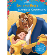 DISNEY BEAUTY AND THE BEAST COLOURING