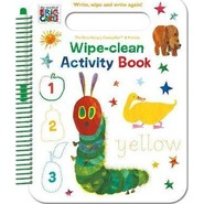 The World of Eric Carle Wipe-Clean Activity Book :Write, Wipe and Write Again!