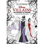 Art of Coloring: Disney Villains :100 Images to Inspire Creativity and Relaxation