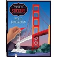 Kaleidoscope Colour by Stickers: World Landmarks